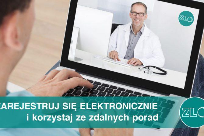 E-rejestracja w ZLO