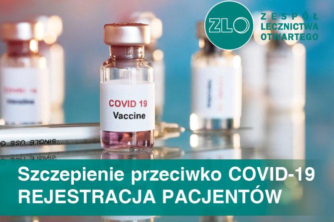Szczepienia przeciwko COVID-19 – przyspieszamy